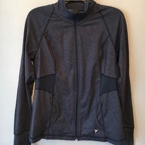 Dark Grey Old Navy Athletic Jacket